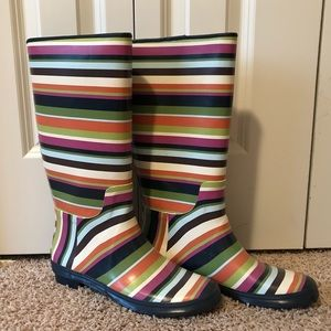 Coach Multi-Colored Rain-boots
